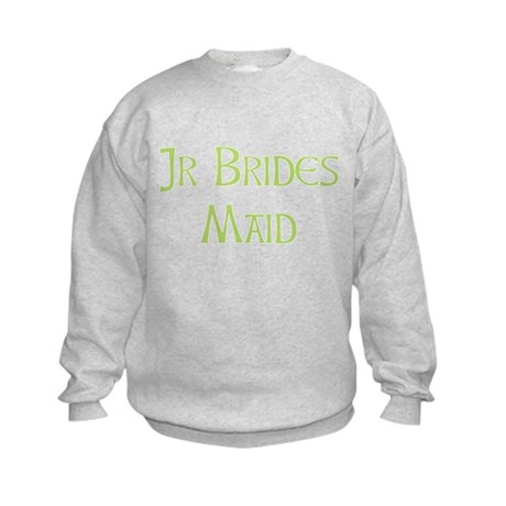 Sherbet Junior Bridesmaid Kids Sweatshirt