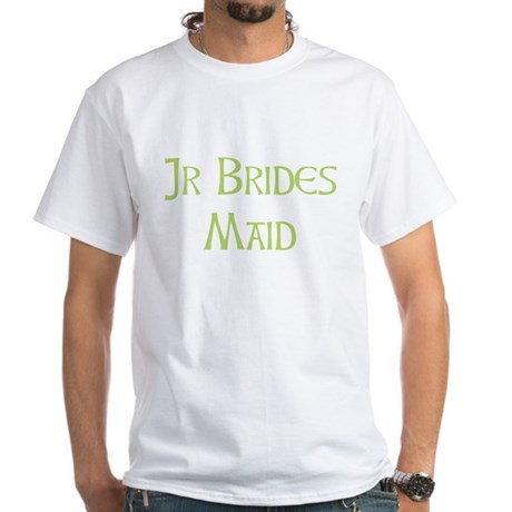Sherbet Junior Bridesmaid White T-Shirt
