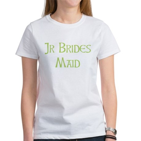 Sherbet Junior Bridesmaid Women's T-Shirt