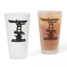 old-fashioned theodolite Drinking Glass