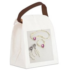 Plastic jewellery Canvas Lunch Bag