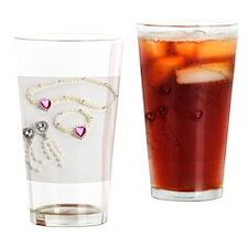 Plastic jewellery Drinking Glass