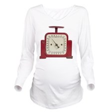 old-fashioned scale Long Sleeve Maternity T-Shirt