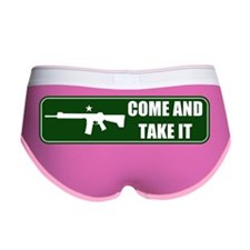 Come and Take It Bumper (Forest  Women's Boy Brief