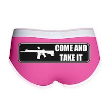 Come and Take It Bumper (Dark Gr Women's Boy Brief