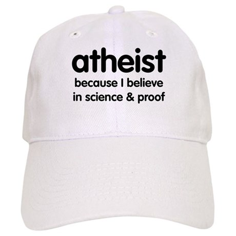 Atheist - Science & Proof Cap