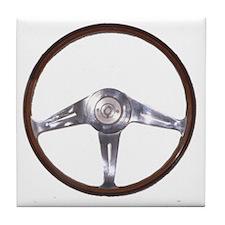 steering wheel Tile Coaster