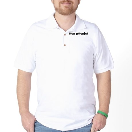 The Atheist Golf Shirt