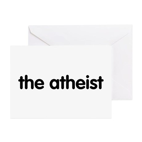 The Atheist Greeting Cards (Pk of 10)