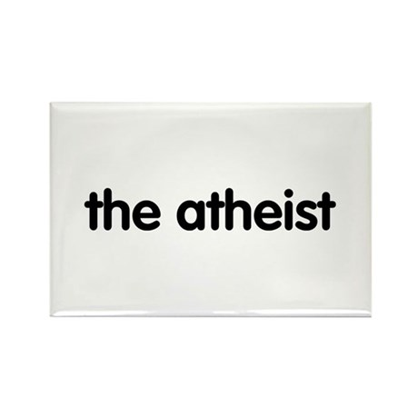 The Atheist Rectangle Magnet (10 pack)