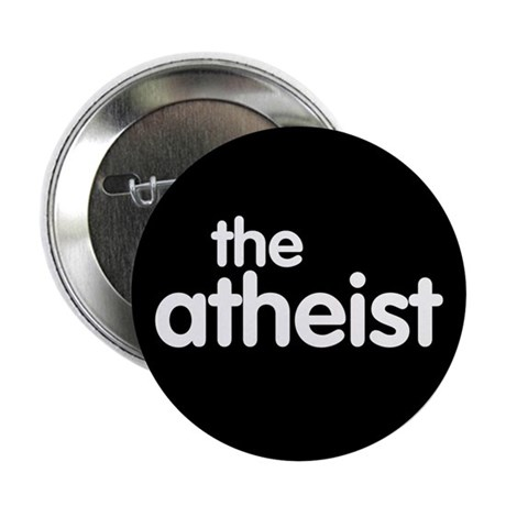 "The Atheist 2.25"" Button (100 pack)"