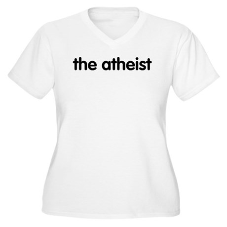 The Atheist Women's Plus Size V-Neck T-Shirt