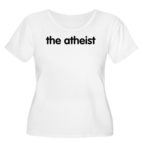 The Atheist Women's Plus Size Scoop Neck T-Shirt