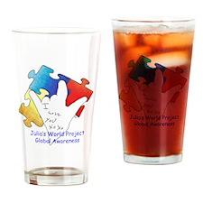 Julias World Project Global Awarene Drinking Glass