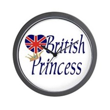 British Princess Wall Clock