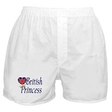 British Princess Boxer Shorts