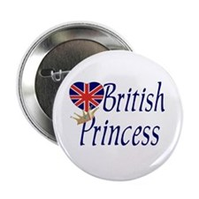 British Princess Button