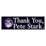 Thank You, Pete Stark (bumper sticker)