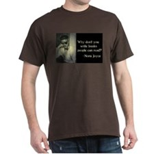 Joyce Quote Brown T-Shirt