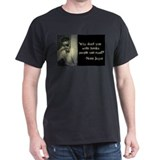Joyce Quote Charcoal T-Shirt