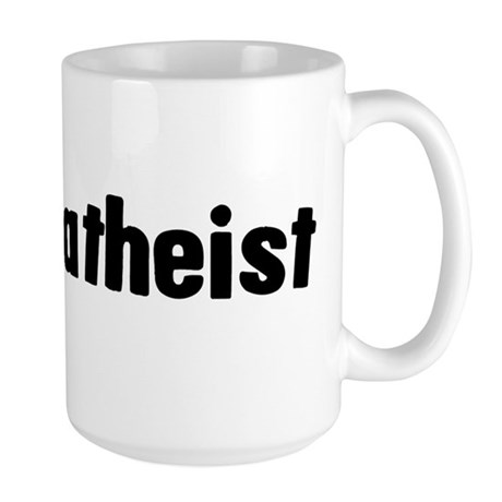 Proud Atheist Large Mug
