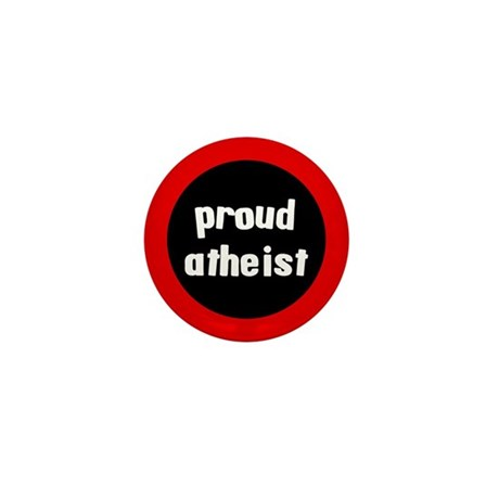 Proud Atheist Mini Button (10 pack)