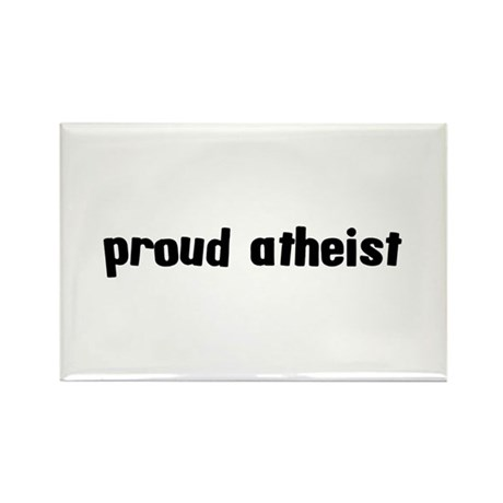 Proud Atheist Rectangle Magnet (100 pack)