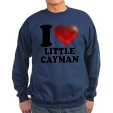 I Heart Little Cayman Sweatshirt