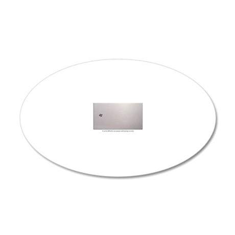 Ant Card 20x12 Oval Wall Decal