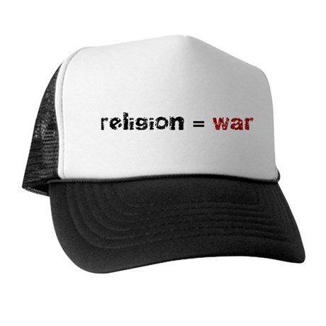 Religion is War Trucker Hat