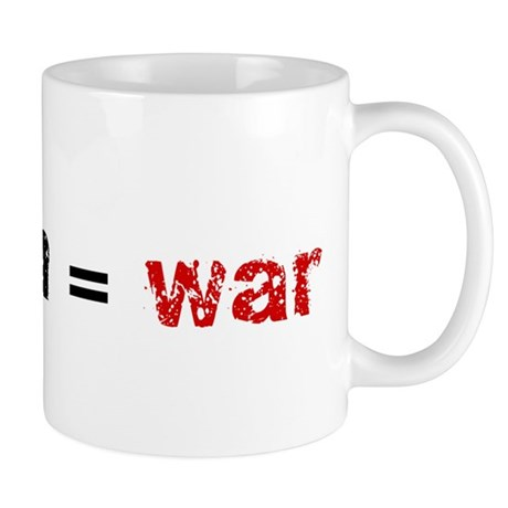 Religion is War Mug