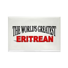 """The World's Greatest Eritrean"" Rectangle Magnet"