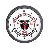 Shield of Faith Tai Chi Wall Clock