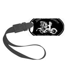Steel Horse Sisters Small Luggage Tag