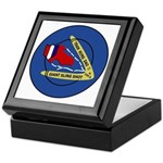 Giant Sling Shot (Blue) Keepsake Box