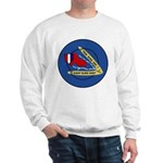 Giant Sling Shot (Blue) Sweatshirt