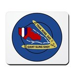 Giant Sling Shot (Blue) Mousepad