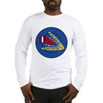 Giant Sling Shot (Blue) Long Sleeve T-Shirt