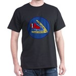 Giant Sling Shot (Blue) Dark T-Shirt