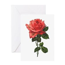 Victorian Rose Greeting Cards