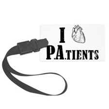 I Heart Patients Luggage Tag