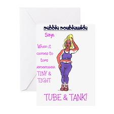 debbie purple Greeting Cards (Pk of 10)