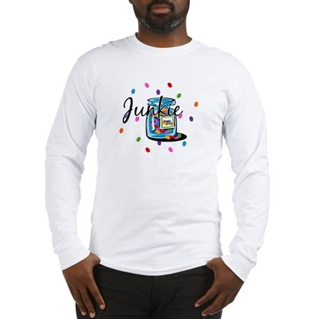 Jelly Bean Junkie Long Sleeve T-Shirt