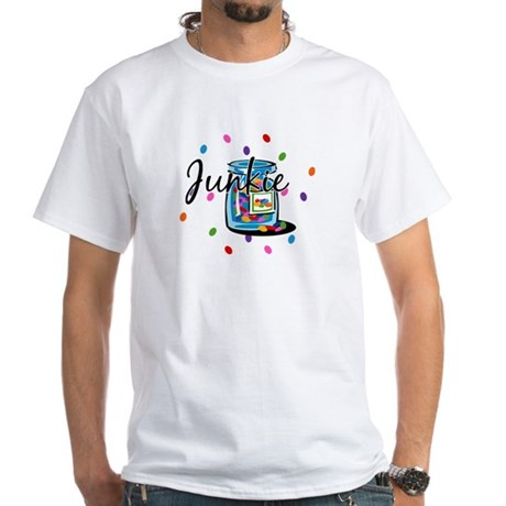 Jelly Bean Junkie White T-Shirt