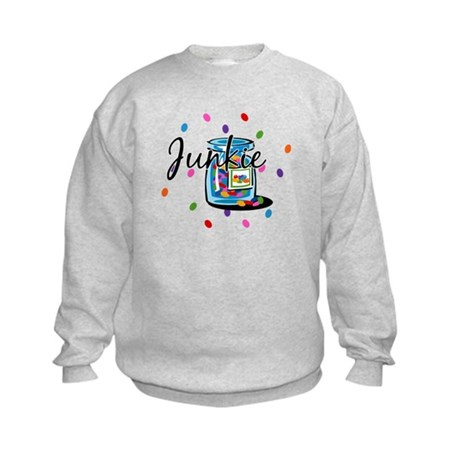 Jelly Bean Junkie Kids Sweatshirt