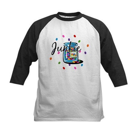 Jelly Bean Junkie Kids Baseball Jersey
