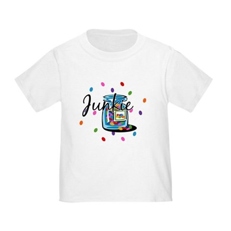 Jelly Bean Junkie Toddler T-Shirt