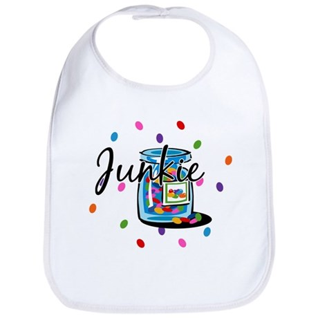 Jelly Bean Junkie Bib