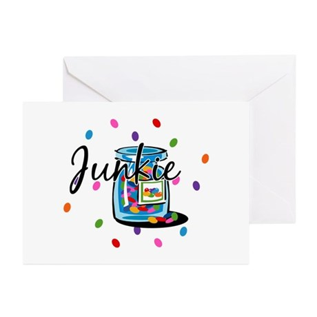 Jelly Bean Junkie Greeting Cards (Pk of 10)