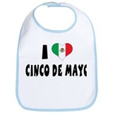 I Love Cinco de Mayo Bib